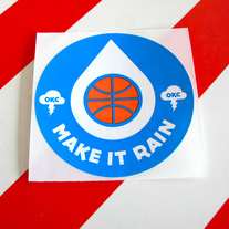 Make It Rain Sticker