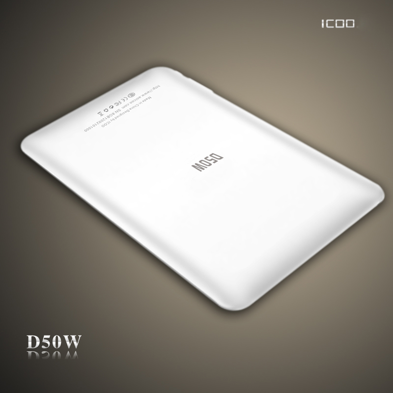 ICOO 7 inch ICOO D50W Tablet Android 4.0 Allwinner A13 1.2GHz ...