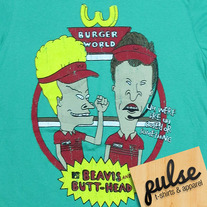 Beavis Butt Green Unisex T-Shirt