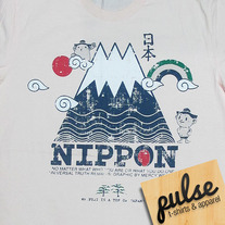 Nippon Light Pink Unisex T-Shirt