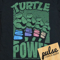 Turtle Black Unisex T-Shirt