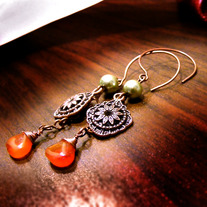 Sleek Trickster at the Spice Bazaar Earrings