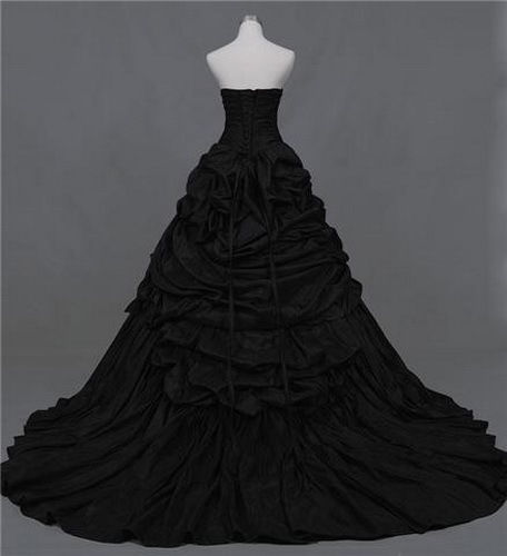 Plus Size Black Wedding Dress Ball Gown Wendys Bridals Online