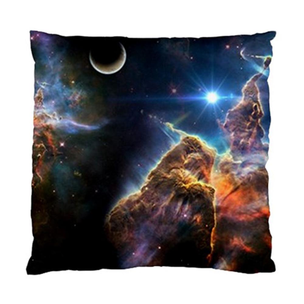 Carina Nebula Space Hubble Telescope Throw Pillow Cushion Case Slip Cover  Polyester Fabric 17\