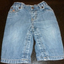Denim Jeans-Baby Gap Size 6-12 Months  GS413