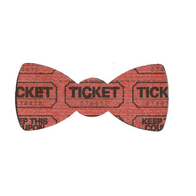 Ticket bow tie