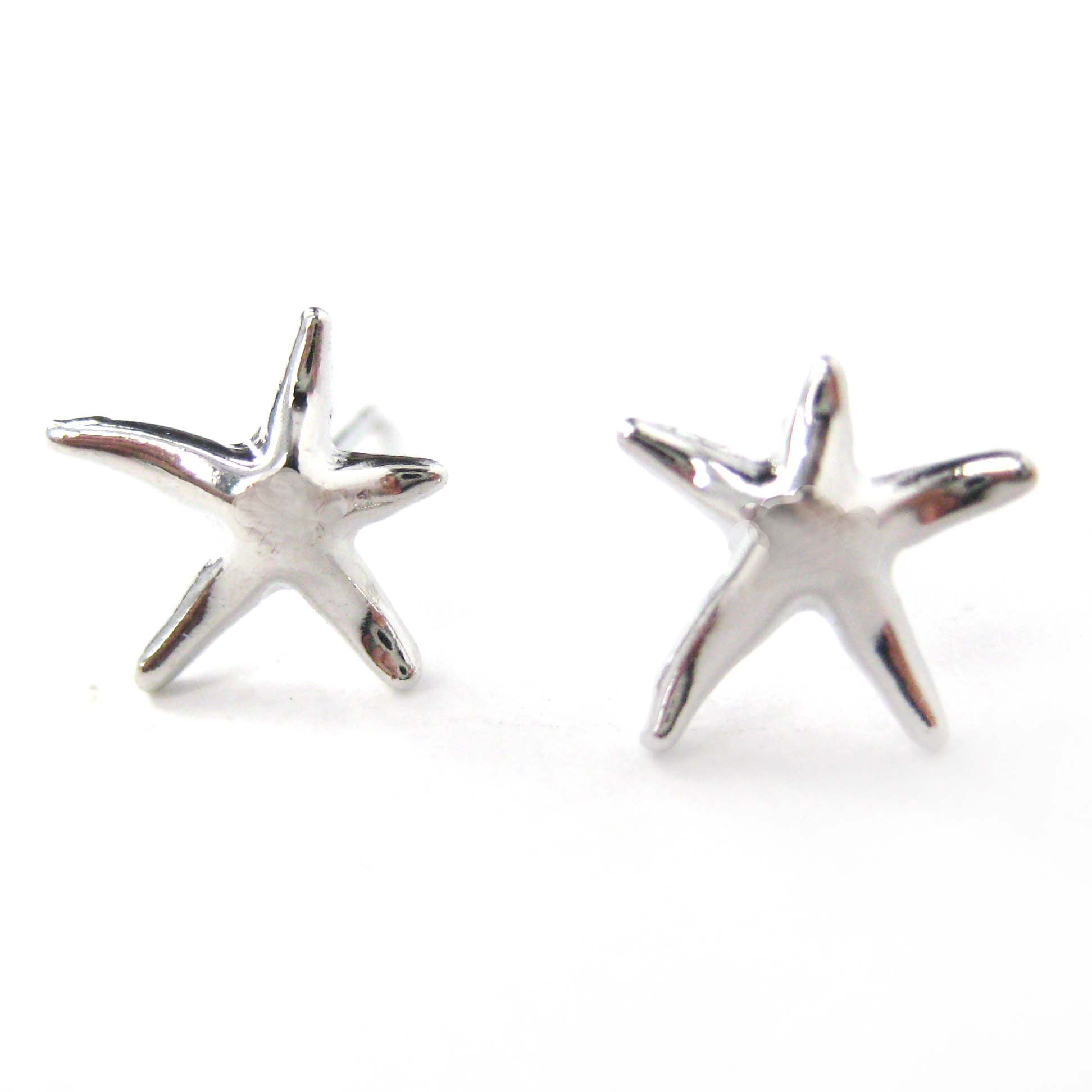 shaped sea collections img animal earrings products in simple gold starfish original star stud