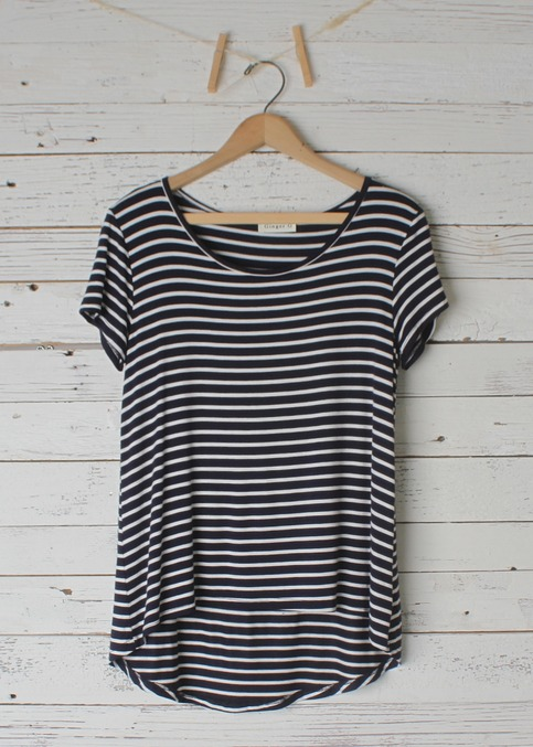 Marina Striped Tee