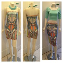 Mosaic Dress/Skirt
