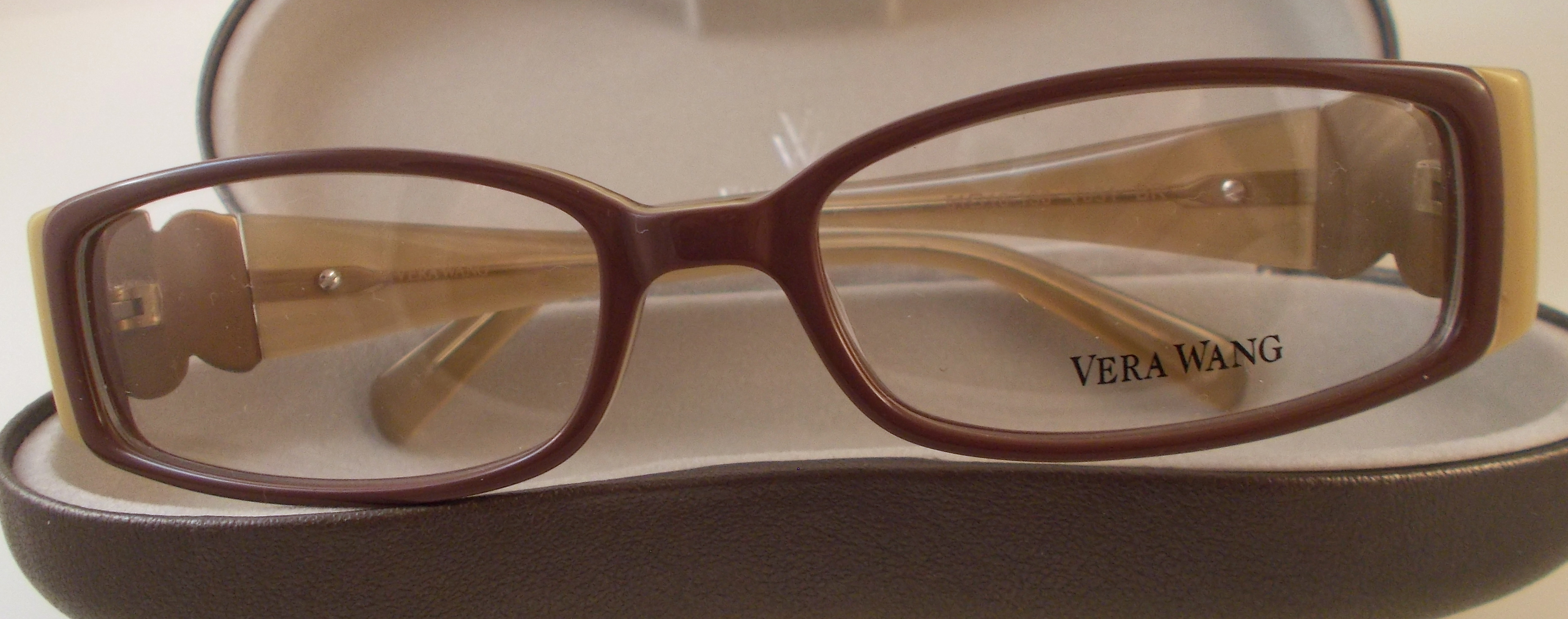 vera wang v031 eyewear brown 5116130mm thumbnail 1
