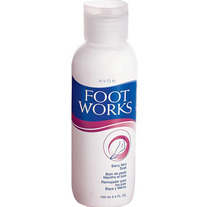 Foot Works Berry Mint Soak by Avon