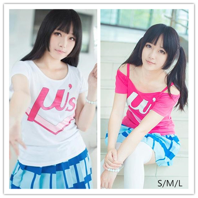 S/m/l love live  happy maker daily cosplay anime t-shirt sp152107
