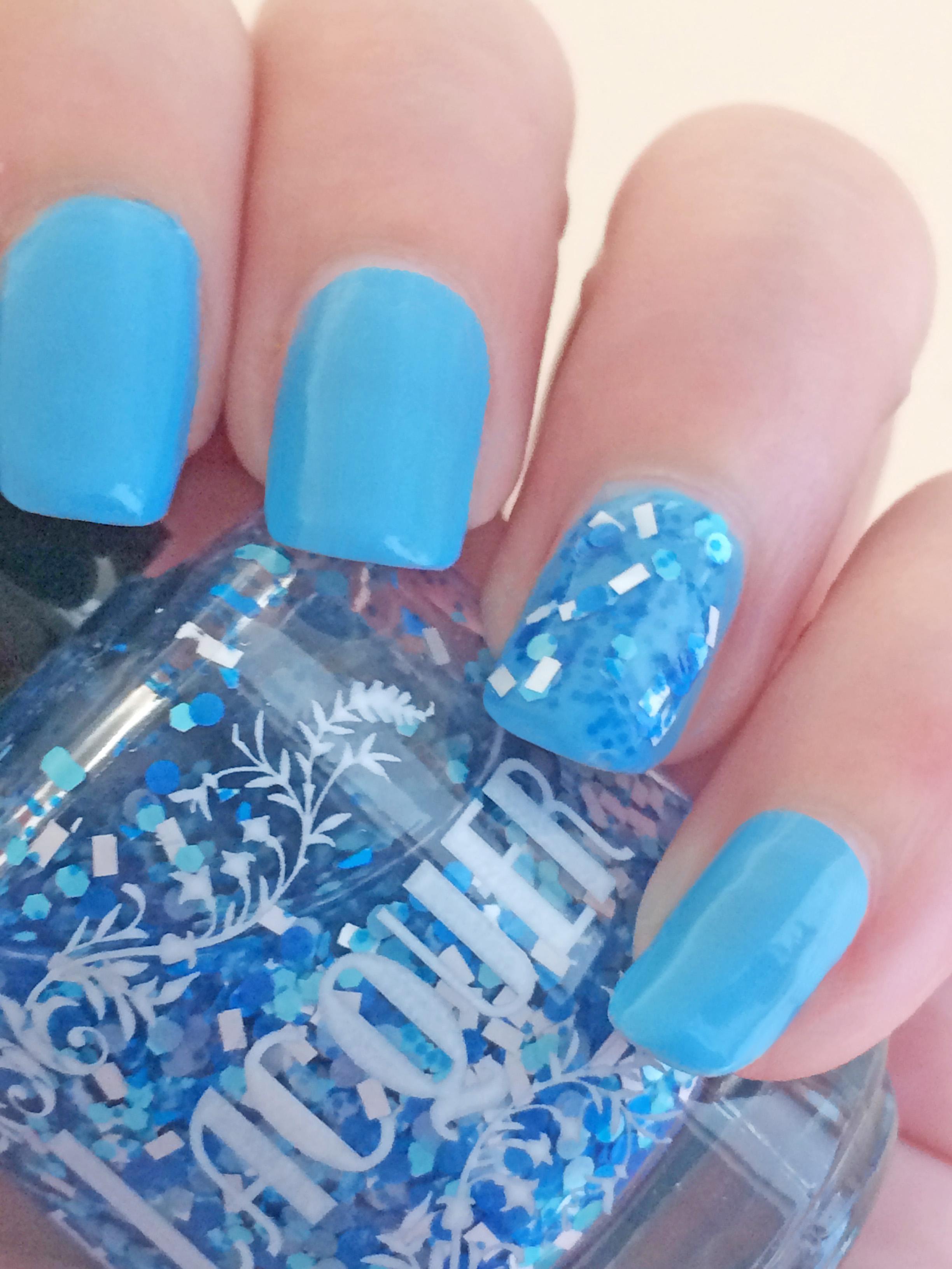Blue Mist Flower - Harvest Moon Inspired Indie Nail Polish - 15 ml ...