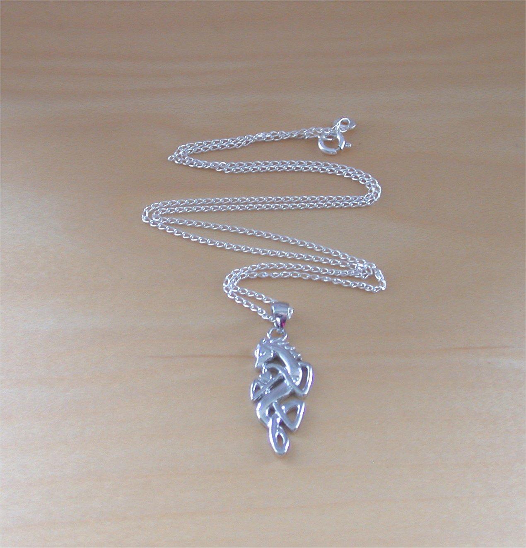 925 Celtic Horse Pendant Amp 18 Quot Sterling Silver Chain