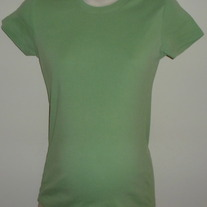 Green Short Sleeve Shirt-Motherhood Maternity Size Medium  GS513