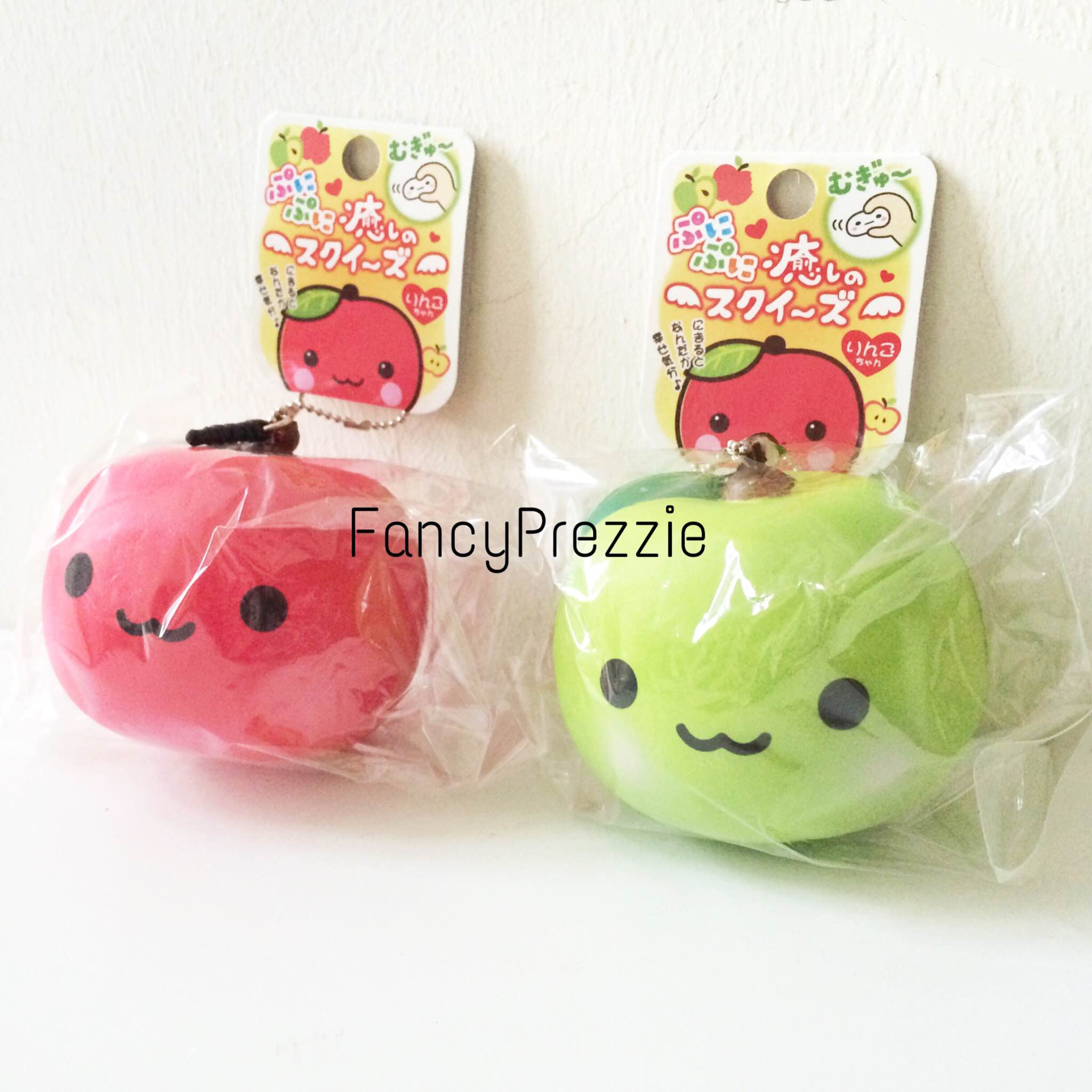 Kawaii Apple Mascot Character Squishy ? FancyPrezzie ? Online Store Powered by Storenvy