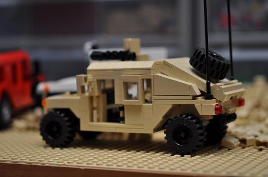 Custom City Hummer Hmmwv Suv Truck Military Vehicle Humvee Model
