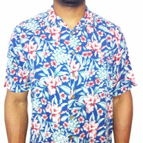 Men's Hawaiian/Floral Button Up Shirt