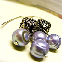 The Magistrate's Daughter Pearl Earrings