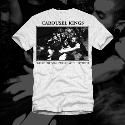 Carousel kings - crowd shot t-shirt
