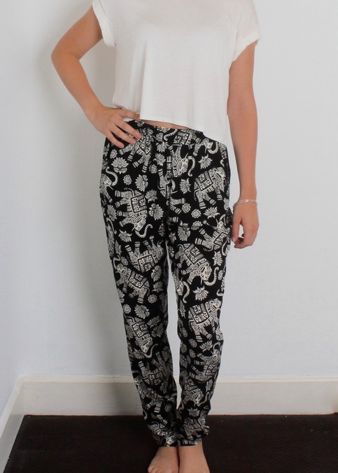 Elephant Tribal Pants