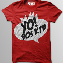 90's Kids - Men's Vintage Red Tri-Blend T-Shirt