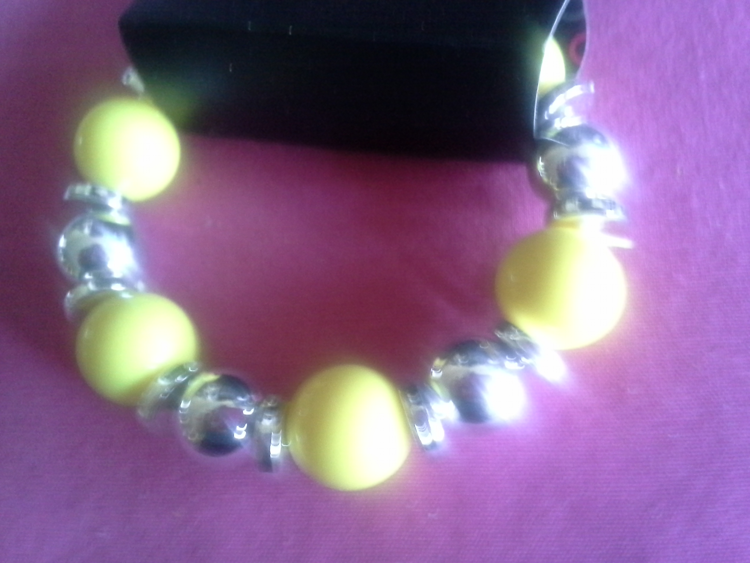 Kmae jewelry and accessories girls yellow bracelet for Jewelry stores in eau claire wi