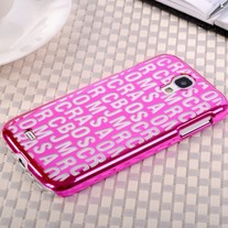 New Chic Fashion Designer Letters Electroplated Samsung Galaxy S4 i9500 Case