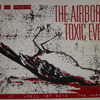 The airborne toxic event 4/01/13 marquee