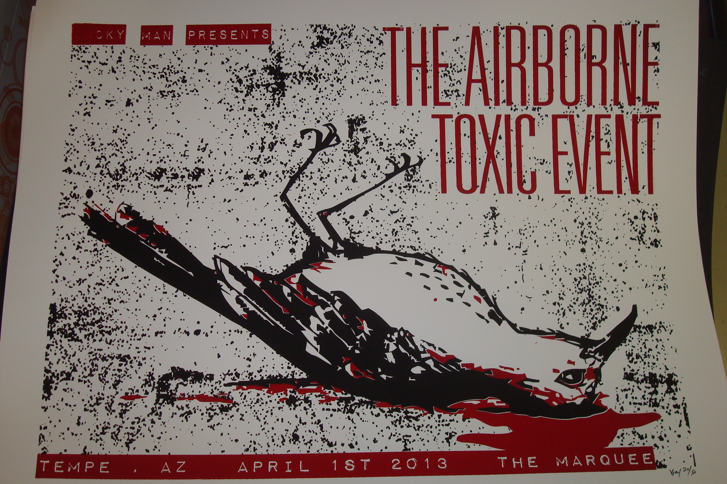 Marquee theatre the airborne toxic event 4 01 13 marquee online