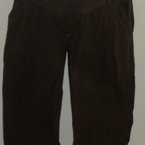 Brown Capris-Old Navy Maternity Low Rise Size Medium  05181