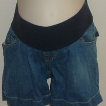 Denim Shorts-Liz Lange Maternity Size XS  05187