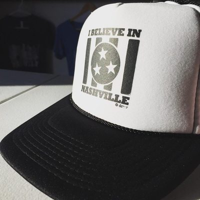 i believe - monochrome hat