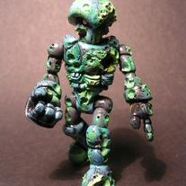 Custom Glyos Zombie Pheyden by Monsterforge