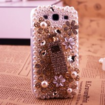 New Bling Crystal Sparkle Perfume Bottle Samsung Galaxy S3 Phone Case