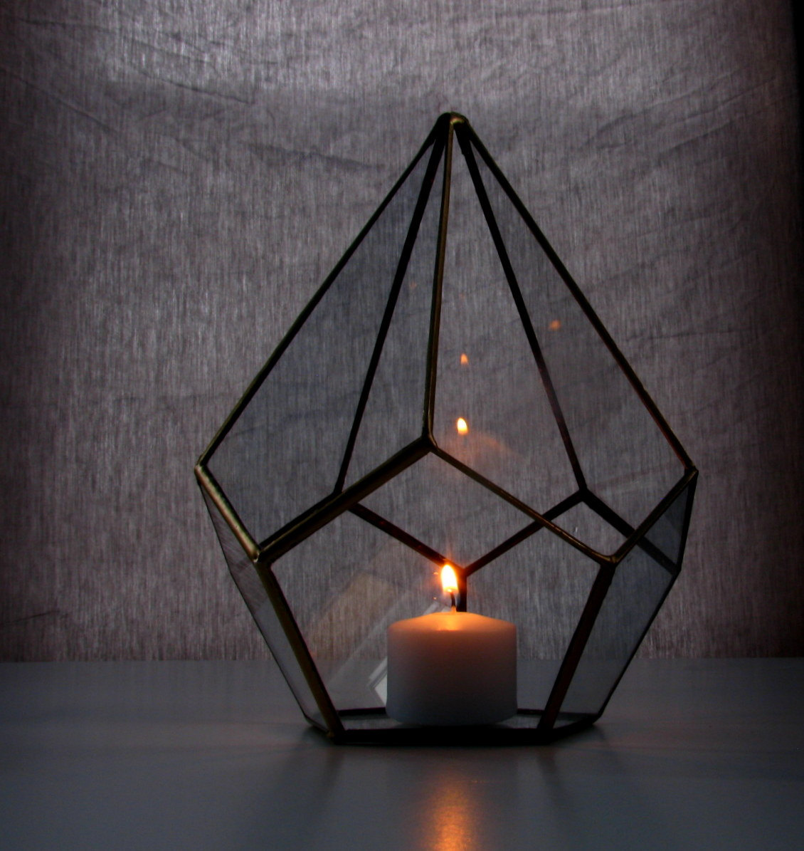 minimalist lighting. Candle Holder / Glass Lighting Teardrop Terrarium Minimalist