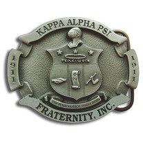 Kappa Alpha Psi Shield Belt Buckle