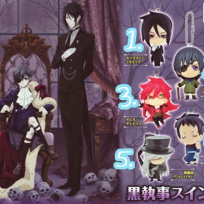 Black Butler Anime Figures Cats Cradle Decoden Online Store