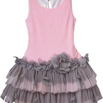 Isobella & Chloe Plie Tutu Dress in Pink - 4-6X