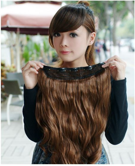 20inch long curl clip in hair extension wig daisy dress for less 20inch long curl clip in hair extension wig pmusecretfo Gallery