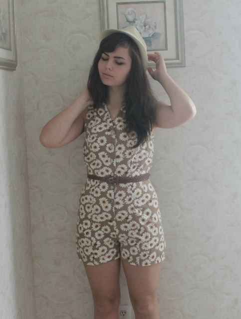 Picking Poseies Romper.