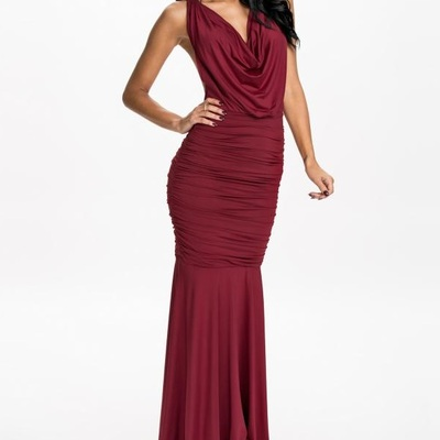 Mae gown dress - red
