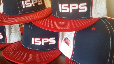 Isps usa trucker hat red white blue 183 shop isps 183 online store