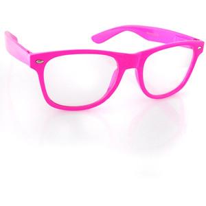 Glasses Frames Pink : *Pink* Nerd Raver Clear Lens Nerd Shades Nerd Glasses ...