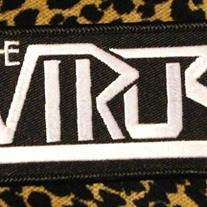 SOLD OUT - The Virus - Embroidered Logo Patch - Small medium photo