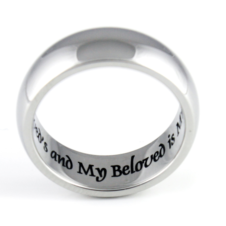 tzaro jewelry ring i am my beloved wedding band