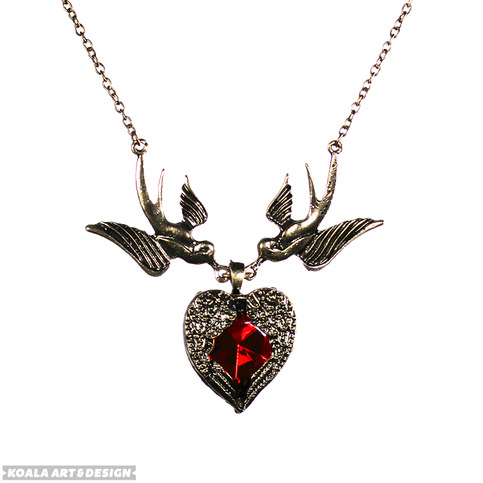 Flight of Heart Necklace