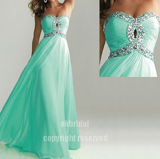 Turquoise prom dresses images