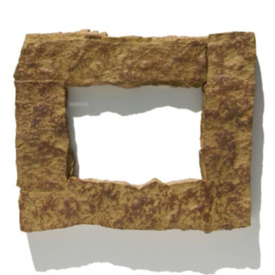 4x6 tan rock picture frame