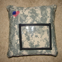 ACU 12in by 12in Pillow w/ american heart
